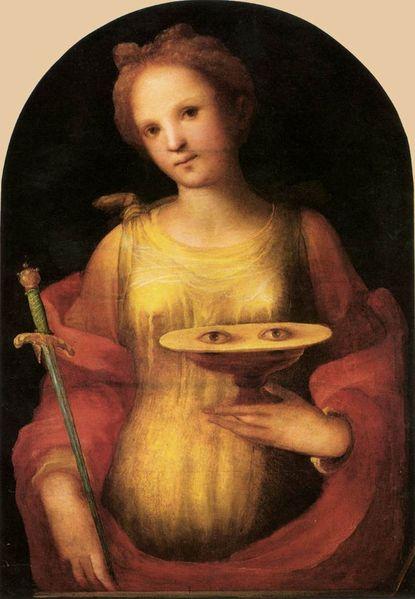 saint lucy,st lucy,roman catholic saints,catholic