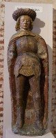 French statue of Saint Adrian