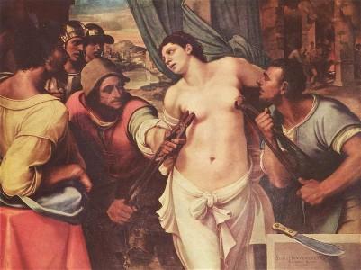 Saint Agatha,female saint,catholic saint
