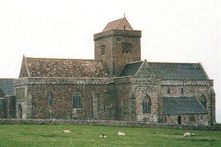 lona abbey, ,irish saint